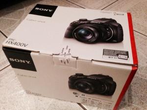 Sony HX400V - klein